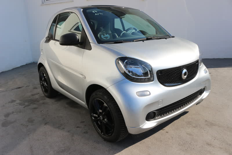 smart fortwo 1.0 71cv passion twinamic automatic navi pelle